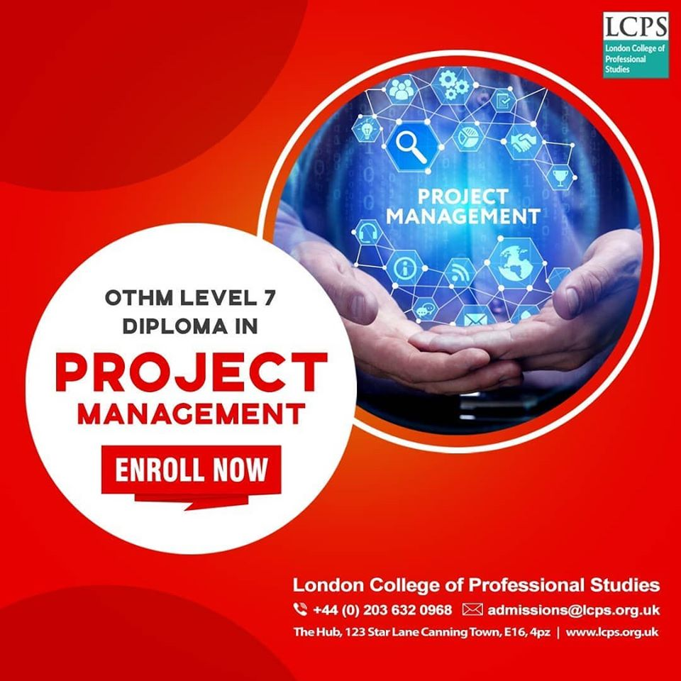 Level 7 Diploma in Project Management